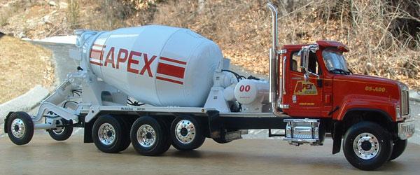 Apex Concrete Curtis Collectibles First Gear Diecast