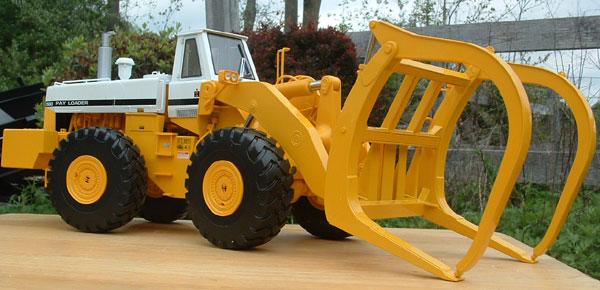 International 560 Wheel Loader W Logging Forks Ltd Sale