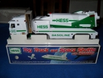 Hess Truck w/shuttle & satellite
